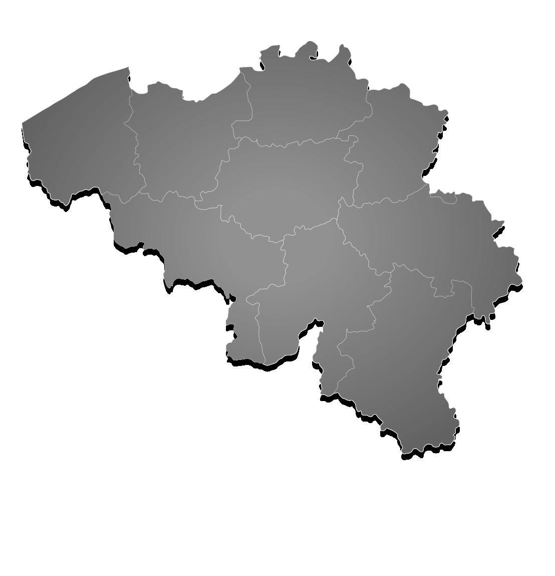 Belgia Kartta Vector Kartta Belgia Vektori Lansi Eurooppa